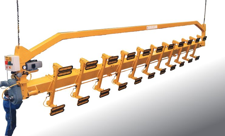 Wood Lifting Devices : Vacuum lifters for panels wood boards cladding