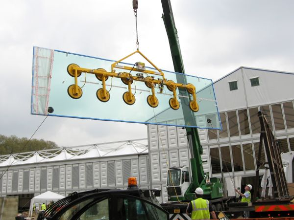 Heavy Duty Glass Lifting Beam - 2200Kgs SWL - Manufactured specially for