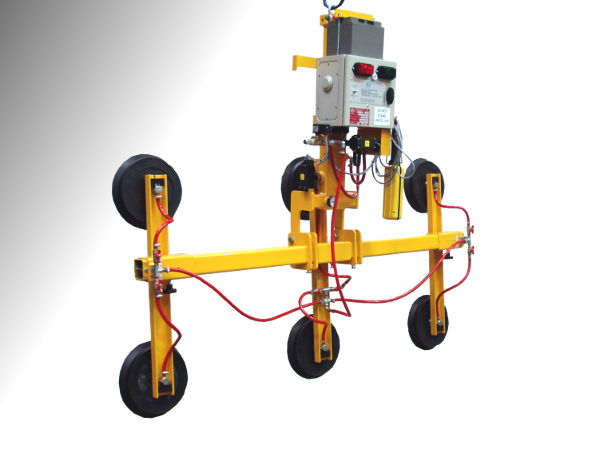 Glass Workshop Vacuum Lifting Beam - 350Kgs S.W.L. Designed specifically for use