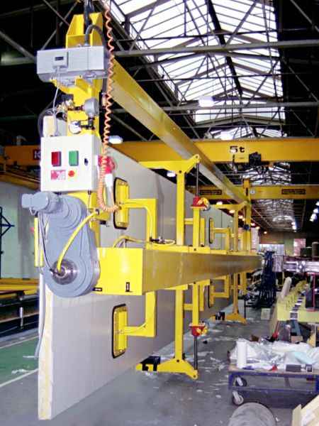 Panel Vacuum Lifting Beam - 180° Rotation - Supplied to a large