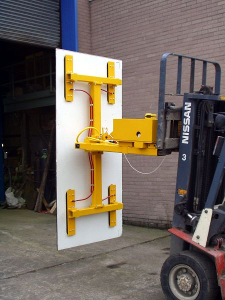 Fork Truck Mounted Vacuum Lifting Attachments