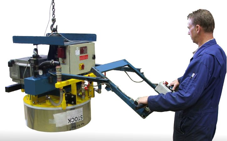Vacuum Lifting Equipment For Coils Amp Reels