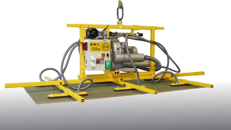 Porous Board Vacuum Lifter - This vacuum lifting beam is designed specially