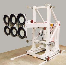 Vacuum Puller for reactor windows