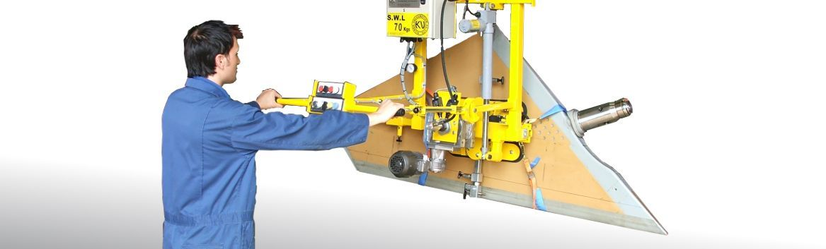 vacuum lifting eqipment for aircraft components